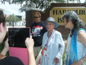 Ron Paul's oldest delegate to the 2012 RNC